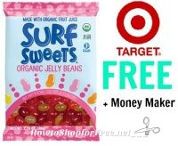 Surf Sweets Organic Jelly Beans FREE + Money Maker at Target!