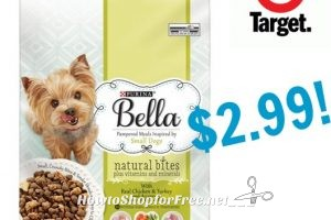 Purina Bella Small Dry Dog Food only $2.99 at Target!