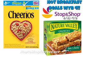 Breakfast Savings at Stop & Shop (3/31-4/6) ~$1.49 each wyb 4 with LTC!