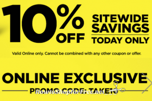 Today Only, 10% OFF Sitewide at Dollar General!