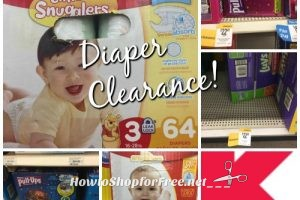 Did Someone Say DIAPER CLEARANCE!?! ~Kmart