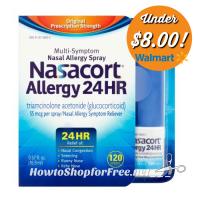 Save $10 on Nasacort at Walmart! (3/19-30)