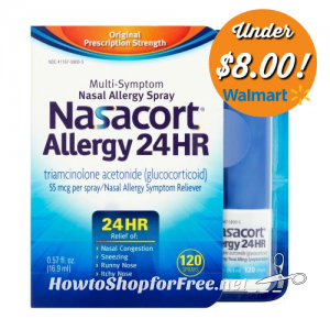 image about Nasacort Coupon Printable known as Nasacort Beneath $8! How in the direction of Keep For Absolutely free with Kathy Spencer