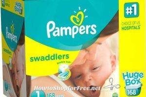 Pampers Diapers Huge Packs $29 at Walmart! (thru 3/30)