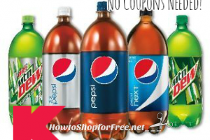 $1 Pepsi 2L wyb 4 at Kmart, No Coupons Needed! (3/19-25)