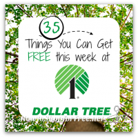 35 Freebies at Dollar Tree ~ April 6-12