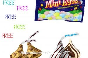 FREE HERSHEY'S KISSES, EGG MINIATURES OR CADBURY MINI EGGS 7-15oz 2/$6 CVS 03/26-04/01