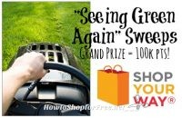 """""""Seeing Green Again"""" Shop Your Way Sweeps ~Grand Prize 100,000pts!!"""