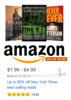 Up to 85% off NY Times Best-Selling Reads ~Deal of the Day