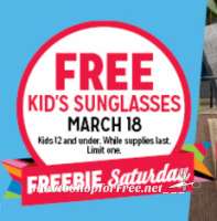 3/18: Kmart Freebie Saturday ~Kids' Sunglasses!