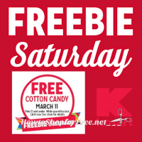 3/11: Kmart Freebie Saturday ~ Yum… Cotton Candy!!