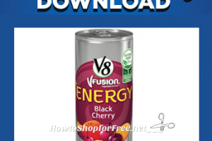 3/10: Kroger Free Friday Download ~ V8+Energy Drink