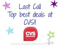 HURRY! Last call for all the HOTTEST deals at CVS 3/12-3/18 Get em' While you can!!