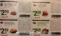 WOWZA!!  Organic Beef $2.50 at Shaw's