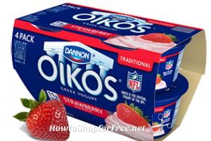 Dannon Oikos 4pks. for $3 @ S&S! (3/31-4/6) ~Healthy Sweet Treat!