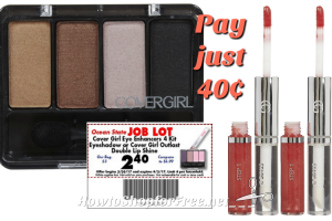 40¢ CoverGirl Goodies at Job Lot this week! (3/30-4/5)