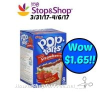 Hot Deal Pop-Tarts only $1.65 ea at Stop & Shop! (3/31/17-4/6/17)