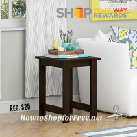 $7 Good To Go Cherry Side Table!!!