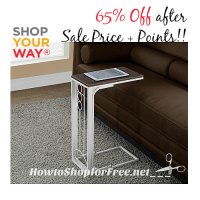 65% OFF Accent Table ~Perfect When Relaxing!