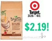 Purina Beyond Natural Dry Cat Food, 3lb Only $2.19 at Target! 3/26 – 4/1