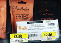 Grab a Shea Moisture Mask for 50 cents at Walmart