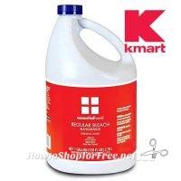 $1 Essential Home Bleach 128oz. ~Save 99¢ +Free Kmart Pickup!