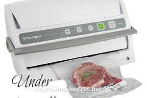 Foodsaver Vacuum Sealer 52% OFF ~ Perfect for Meat Stock-Ups!!