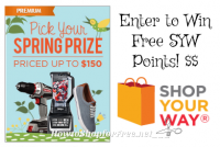 Up to $3 FREE Shop Your Way Credit!!!!