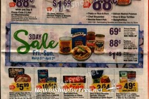 Stop & Shop Early Ad Scan 3/31 - 4/06