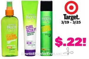 Garnier Fructis Styling Product only $.22 at Target! 3/19 – 3/25