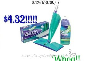Whoa Swiffer Wet Jet Starter Set only $4.32 at Stop & Shop! (3/24/17-3/30/17)