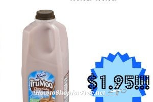 Wow Tru Moo Chocolate Milk only $1.95 at Stop & Shop! (3/10/17-3/16/17)