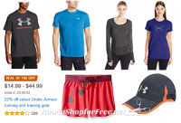 25% off Under Armour Running & Training Gear ~Amazon DotD