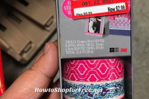 80% OFF Scotch Expressions Washi Tape w/ Clearance+Coupon!