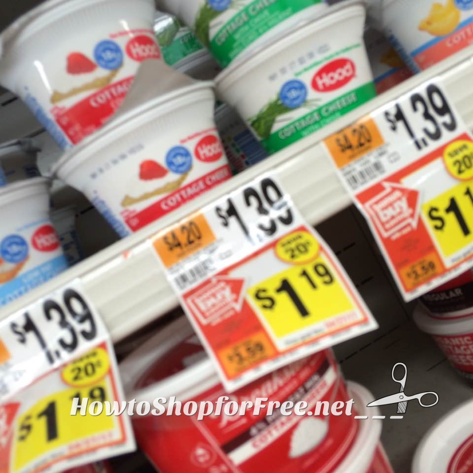 Lovely Hood Cottage Cheese Singles 44¢