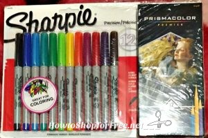 WHAT?!? Sharpie/prisma 12ct for $1.00!! ~Check your store!!