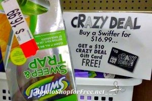 $6.99 Swiffer Sweep & Trap at Job Lot ~Unadvertised Crazy Deal