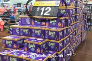 $10 Luvs Diaper Boxes at Walmart with Clearance + Coupon!!
