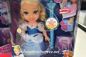Magical Wand Cinderella Doll ~at least 50% OFF at Target!