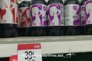 WHOA .39 Smart Sense Soda at Kmart, thru 4/22!