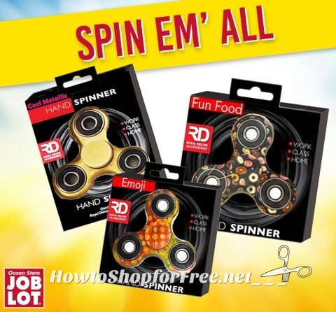 $4 Fid Spinners