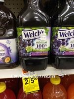 Welch's Grape Juice for  a Quarter!  ~Stock Up Time!