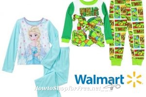 TMNT & Frozen Jammies only A BUCK! ~Cute Clearance!