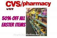 WOW All Easter Items on Clearance 50% off at CVS!!!! Starting 4/17/17