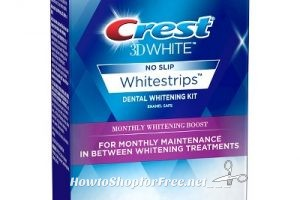$11.48 Crest 3D White 12ct. Strips ~75% OFF w/ Clearance+Coupon!