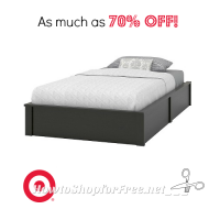 Need a New Bed? $39 Platform Twin Bed @ Target!
