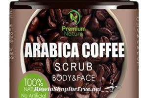 Exfoliating Coffee Body Scrub 56% OFF on Lightning Deal! Only $8.79!