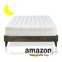 Mattress Topper with Fitted Skirt as low as $104! ~Deal of the Day