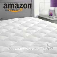 Today Only, 25% OFF Bamboo Mattress Pads (with Fitted Skirt)