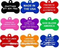 Custom Pet ID Tag only $2.75 + Free Shipping ~Safety First!!